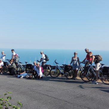 (Italiano) Le bici di EbikeIn apripista allo Sciacchetrail Vertical Race